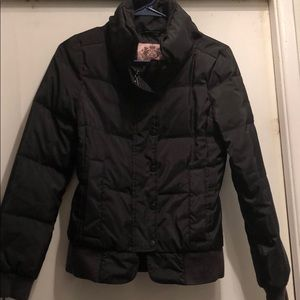 Juicy Couture Puffy black Jacket